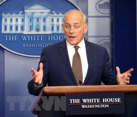 White House Chief of Staff nominated as Veterans Affairs Secretary