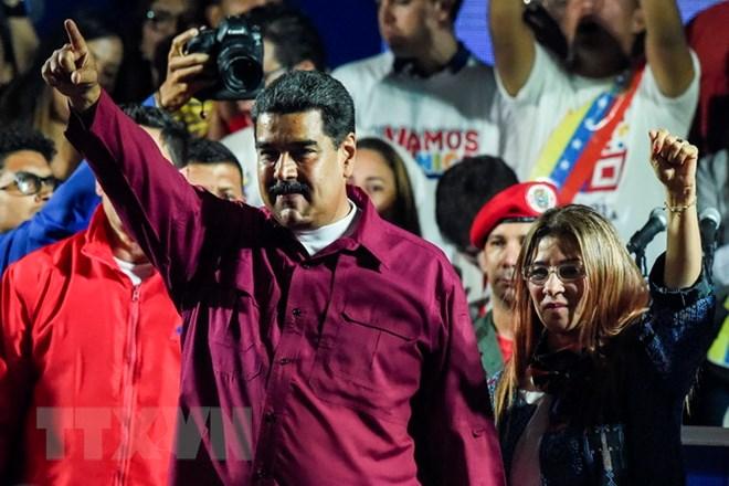 Nicolas Maduro wins Venezuela presidential election