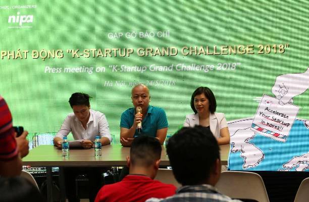 K-Startup Grand Challenge 2018 launched for Vietnamese Competitors