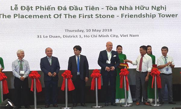 Construction begins on Vietnam-Slovakia Friendship Tower