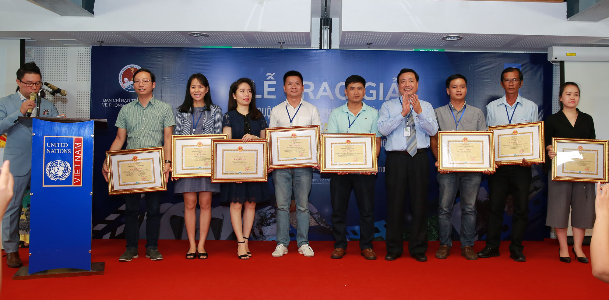 Award ceremony to honor winners from the video competition on disaster risk reduction