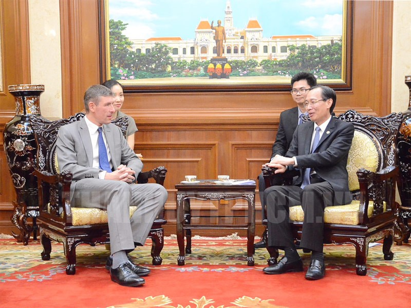 Ho Chi Minh city, UK increase cooperation in smart traffic systems