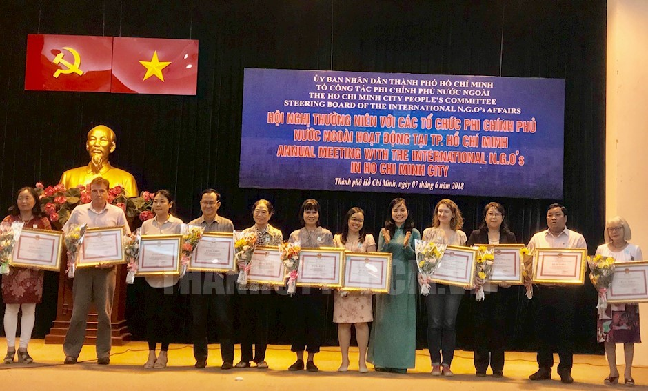 Ho Chi Minh city receives over USD75 million from foreign NGO assistance