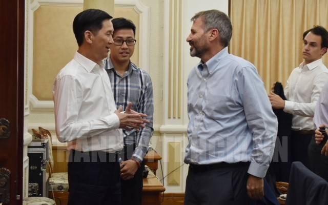 Ho Chi Minh city hopes for IFC support on smart city building
