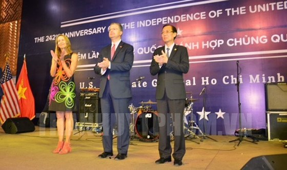 US Independence Day celebrated in Ho Chi Minh city