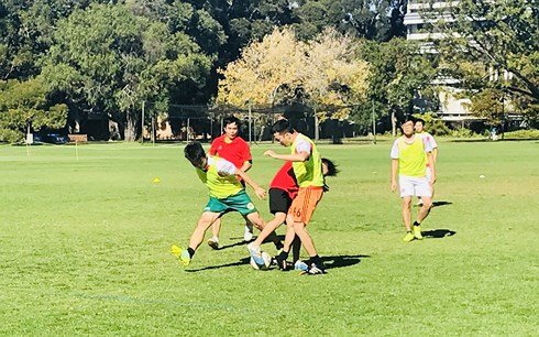 Vietnamese student football tournament held in Australia