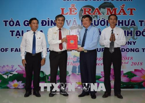 Launch of Family and Juvenile Court in Dong Thap province