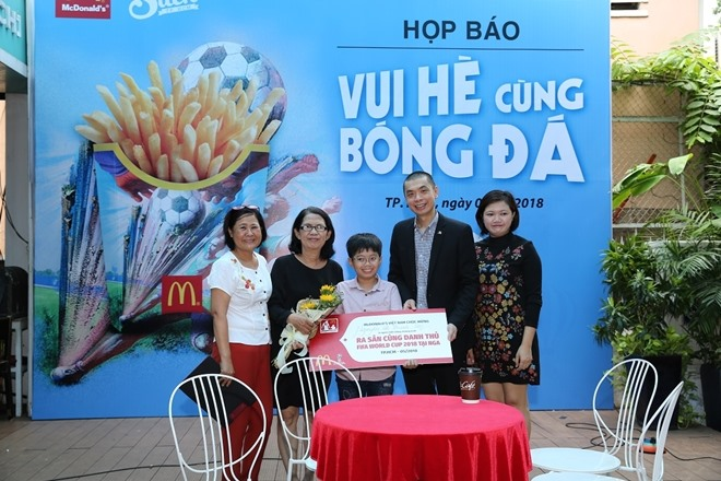 Vietnamese child to attend World Cup as player escort