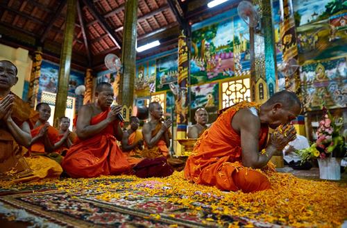 Photo book on Vietnam pagodas by French reporter Nicolas Cornet