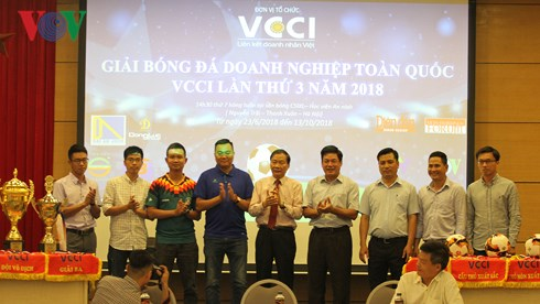 VND30 million for VCCI football tournament 2018 winner