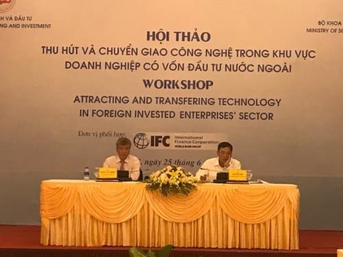 FDI enterprises urged to step up technology transfer