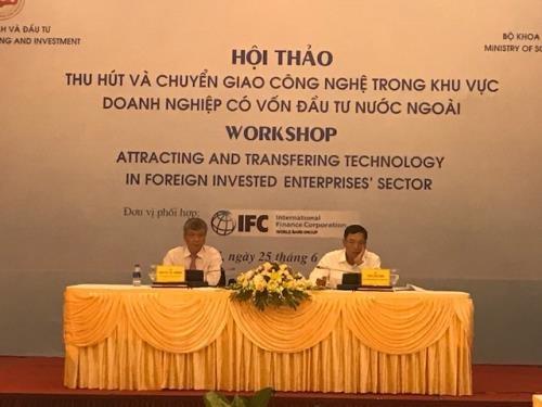 FDI enterprises urged to step up technology transfer