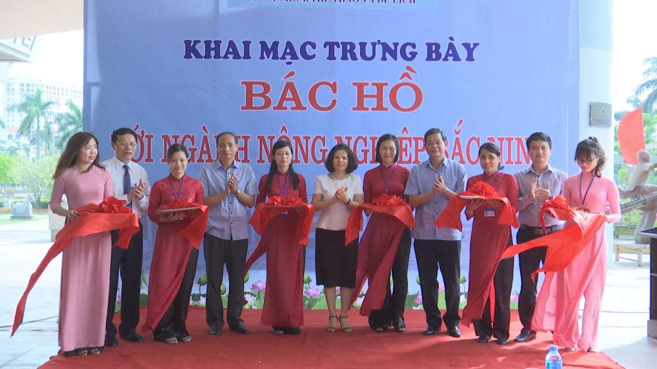 "Bac Ninh organizes display ""Uncle Ho with Bac Ninh's agricultural sector"""