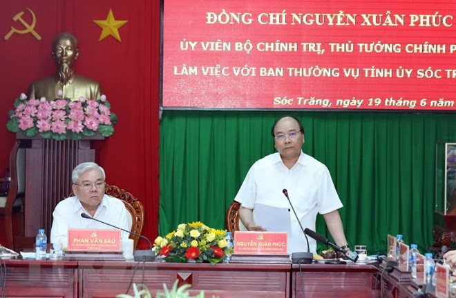 PM: Soc Trang should work out proper measures to fulfill growth targets