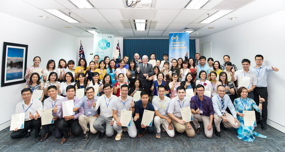 Australia empowers alumni to contribute to Vietnam