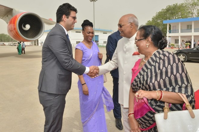 Indian President leaves for Greece, Suriname, Cuba visit