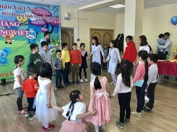 Vietnamese class for children activated in Russia