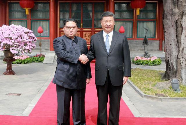DPRK's leader Kim Jong-un visits China