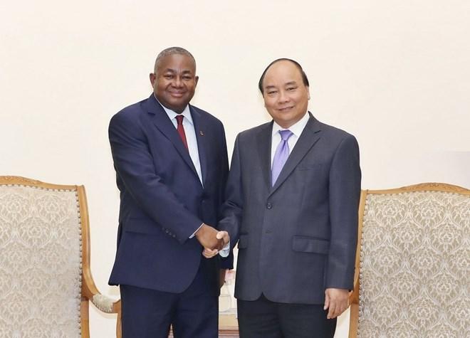 Prime Minister receives Mozambican Ambassador