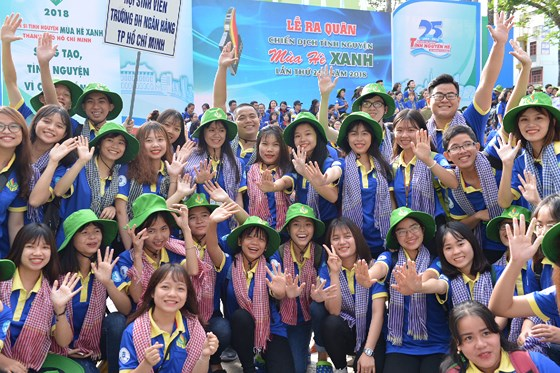 Over 60,000 youngsters join voluntary activities