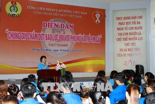 Nation joins hands to eliminate violence on women and girls