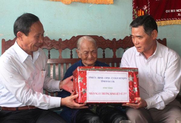 Dak Lak province spends over VND5 billion paying debts of gratitude