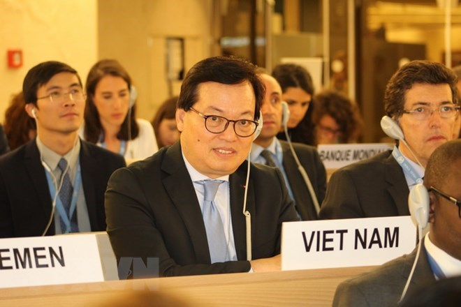 Vietnam active in discussions at UNHRC's 38th session