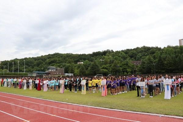 Vietnamese students in RoK organise football tournament