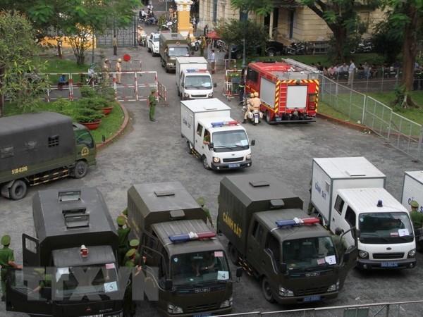Terrorist plots of reactionary organisations deserve strict punishment