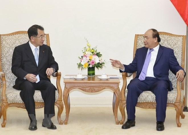 PM meets head of Japan-Mekong Parliamentary Friendship Association