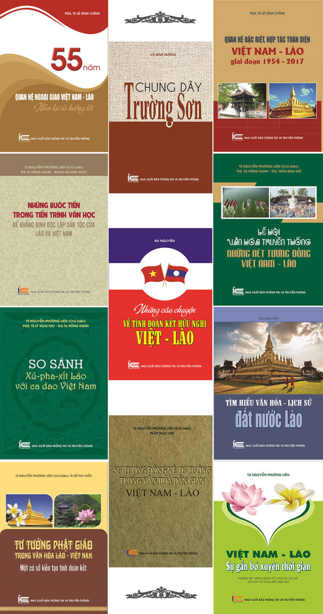 Books on Vietnam - Laos relations introduced in Vietnam