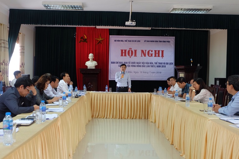 Northeast ethnic cultural festival in Vinh Phuc province