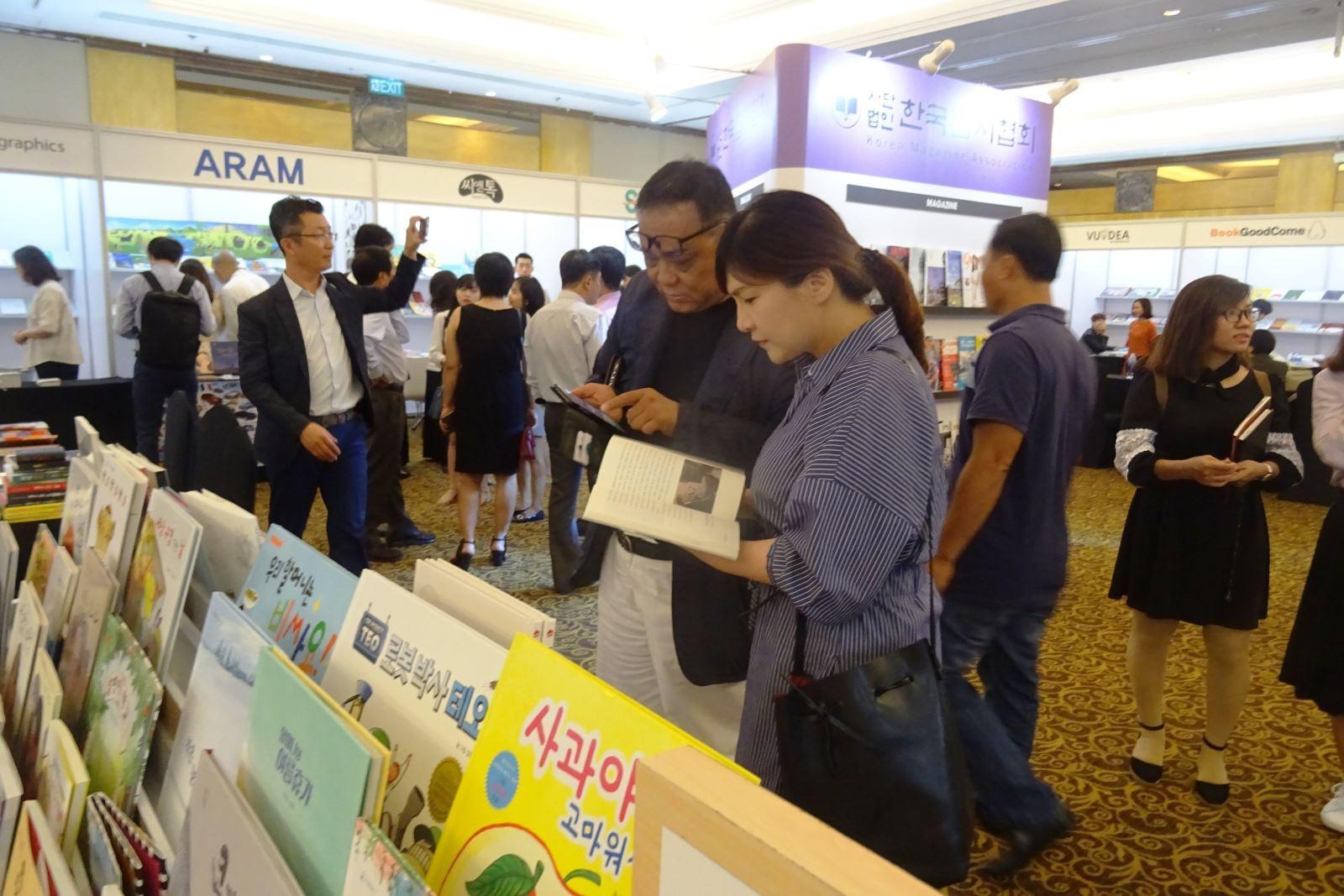 Korean book copyright festival in Ho Chi Minh city
