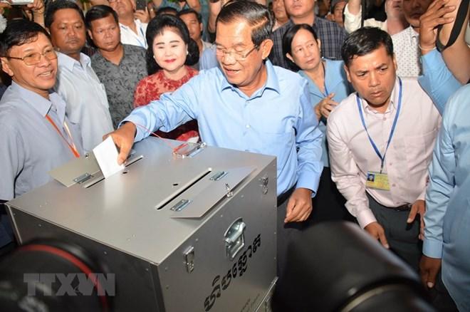 Vietnam congratulates Cambodia on successful election