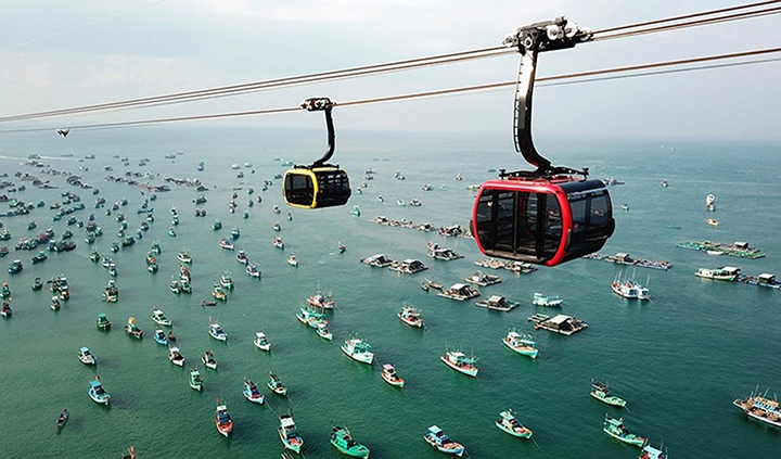 Foreign tourists to Kien Giang rise sharply
