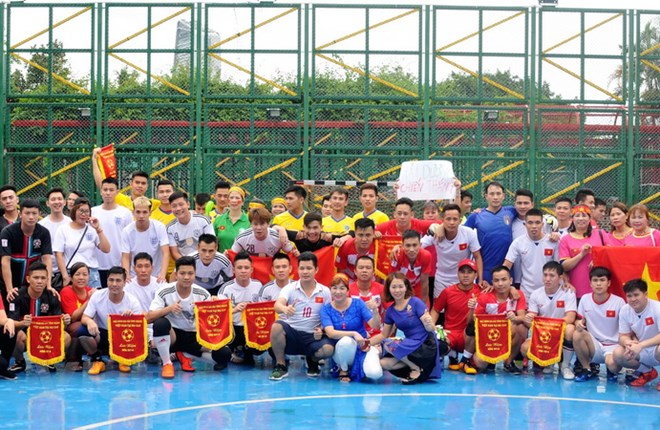 Football tournament held for Vietnamese youth in Macau