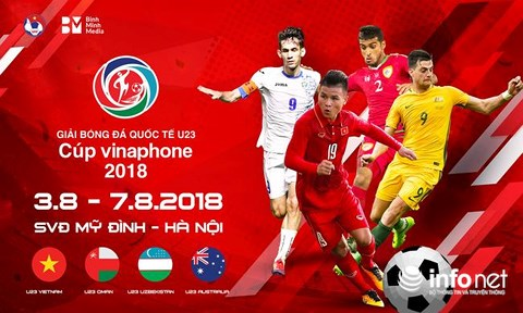 U23 international football championship to kick off on August 3rd