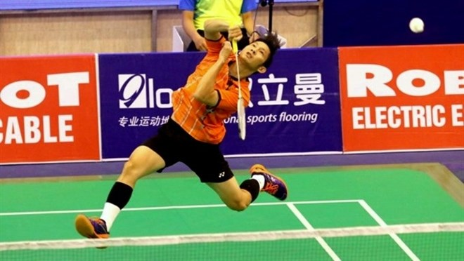 Vietnamese star enters semi-finals of Singapore Badminton Open