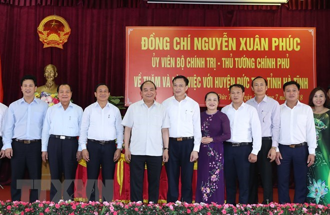 PM asks Duc Tho to become first new rural district in Ha Tinh