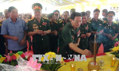 Requiem commemorates heroic fallen soldiers in Quang Tri