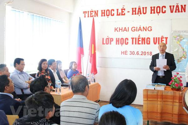 Summer Vietnamese class opens in Prague