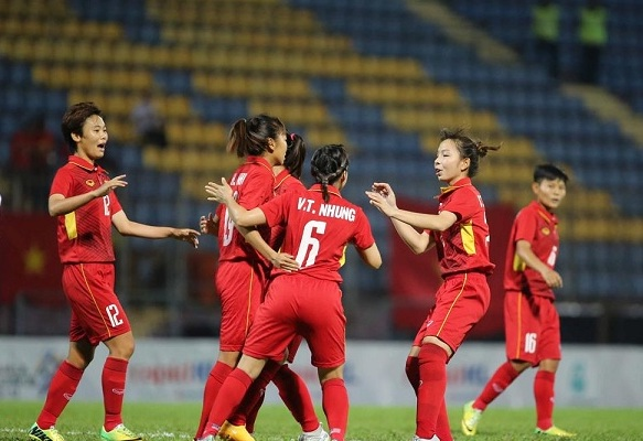 Vietnam defeats Indonesia 6-0 at AFF Women's Championship