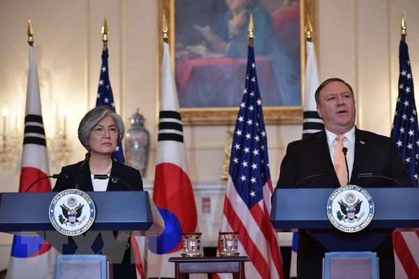 U.S. Secretary of State Mike Pompeo to meet RoK counterpart