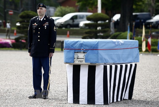 DPRK to hand over remains of up to 55 fallen US soldiers