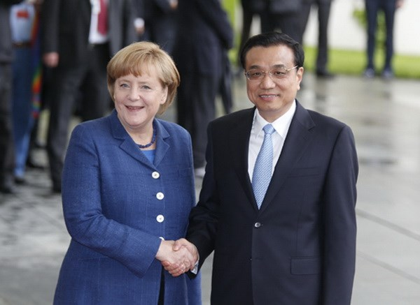 Chinese Premier Li Keqiang visits Germany