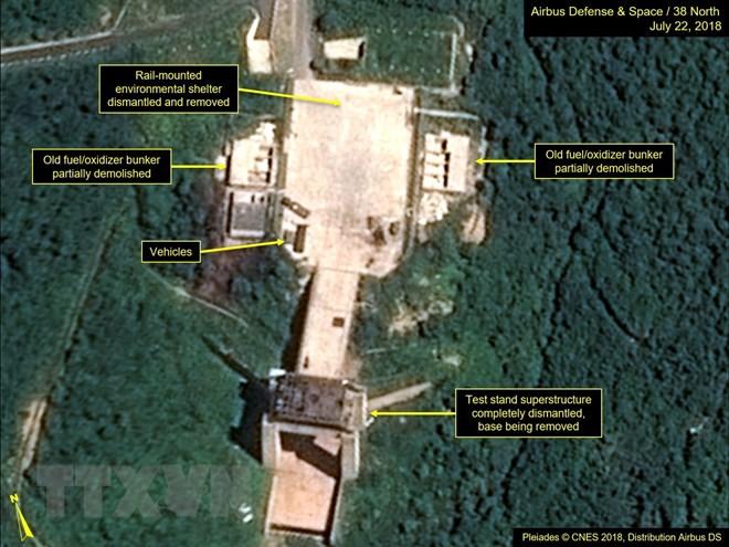 RoK welcomes DPRK dismantling rocket test site