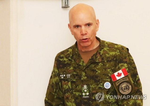 Canadian General takes offices as Deputy UNC Chief