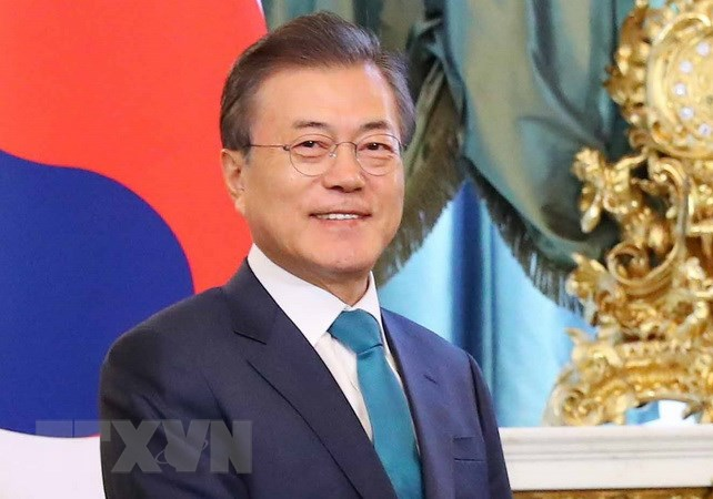 RoK President Moon Jae-in visits Singapore