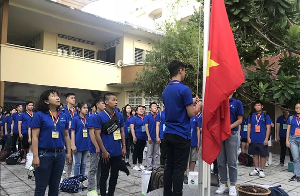 Summer camp for young Overseas Vietnamese and Ho Chi Minh city youth held