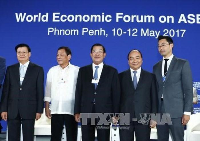 Vietnam welcomes leaders to WEF-ASEAN